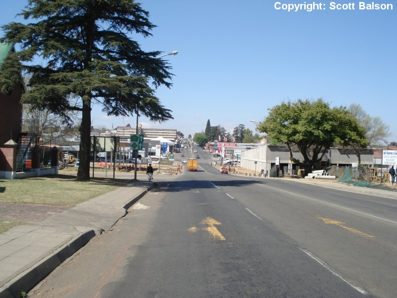 Ermelo South Africa  City new picture : Scott Balson's trip to South Africa 8th September 2006 Ladysmith